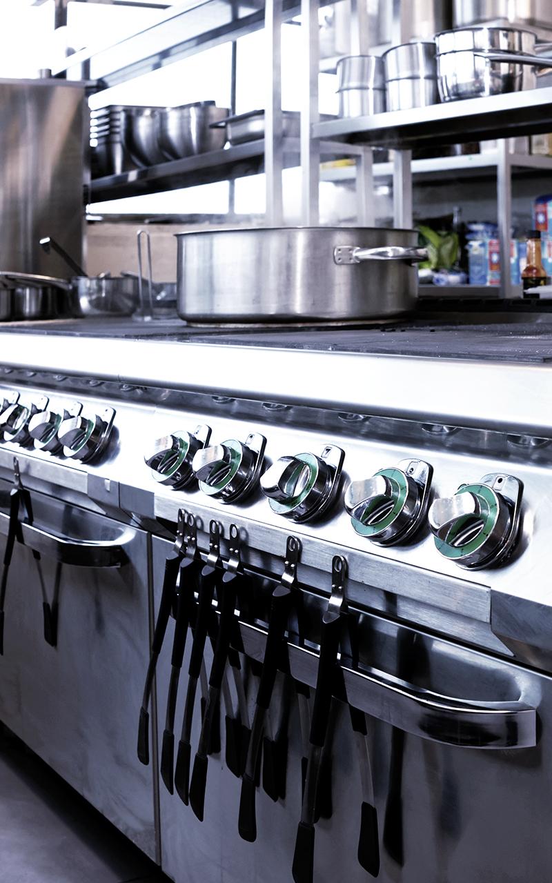 Weisser Großküchentechnik Küchenherd Gastronomie
